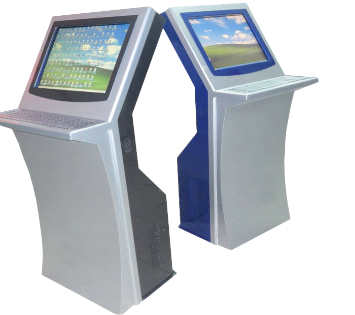 17-inch Screen Computer,One Answer Machine With a Keyboard, Touch Kiosk  JLB-017